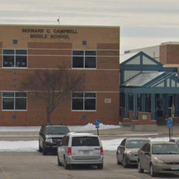 Bernard Campbell Middle School in Kansas City, Missouri, is seen in a Google Maps image.