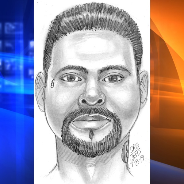 An El Monte Police Department sketch depicts a man accused of sexual assault and impersonating a police officer.