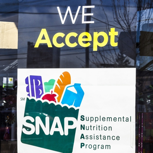 The Trump administration wants to tighten the rules governing who qualifies for food stamps, which could end up stripping more than 3 million people of their benefits. (Credit: Shutterstock)