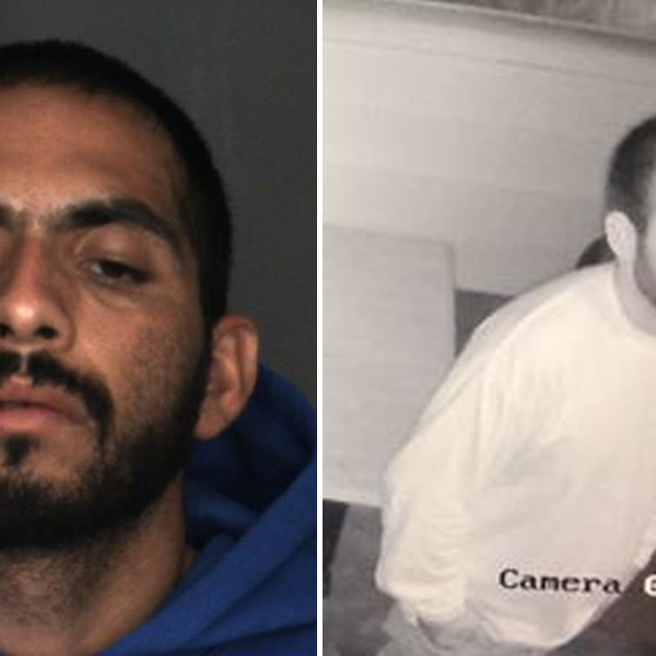 Jonathan Padilla, 24, is seen in undated photos provided by the San Bernardino County Sheriff's Department on July 23, 2019.