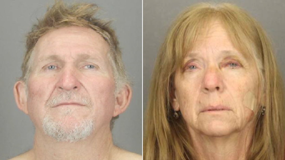Authorities released these photos of Blane Barksdale, left, and Susan Barksdale, right.