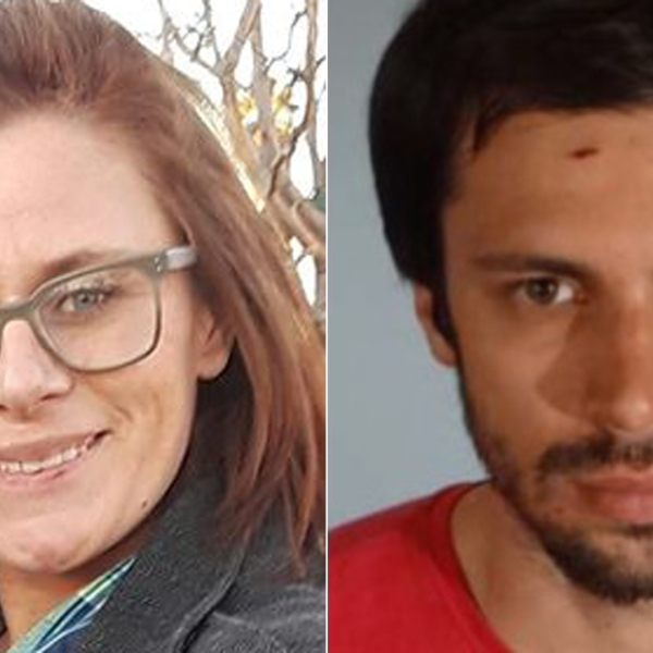 Amanda Custer, left, is shown in a photo posted to her Facebook page in March 2019. Robert Camou is shown in a photo released by the L.A. County Sheriff's Department in July 2019.
