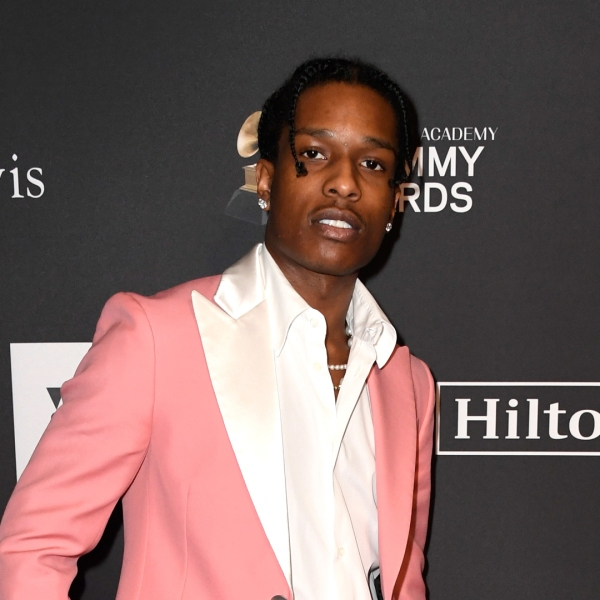 A$AP Rocky attends the Pre-GRAMMY Gala and GRAMMY Salute to Industry Icons Honoring Clarence Avant at The Beverly Hilton Hotel on Feb. 9, 2019. (Credit: Frazer Harrison/Getty Images for NARAS)