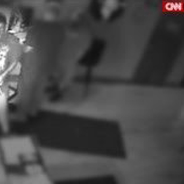 Security camera footage obtained exclusively by CNN shows Connor Betts' movements on the night of the Dayton gunman's mass shooting. (Credit: Obtained by CNN)
