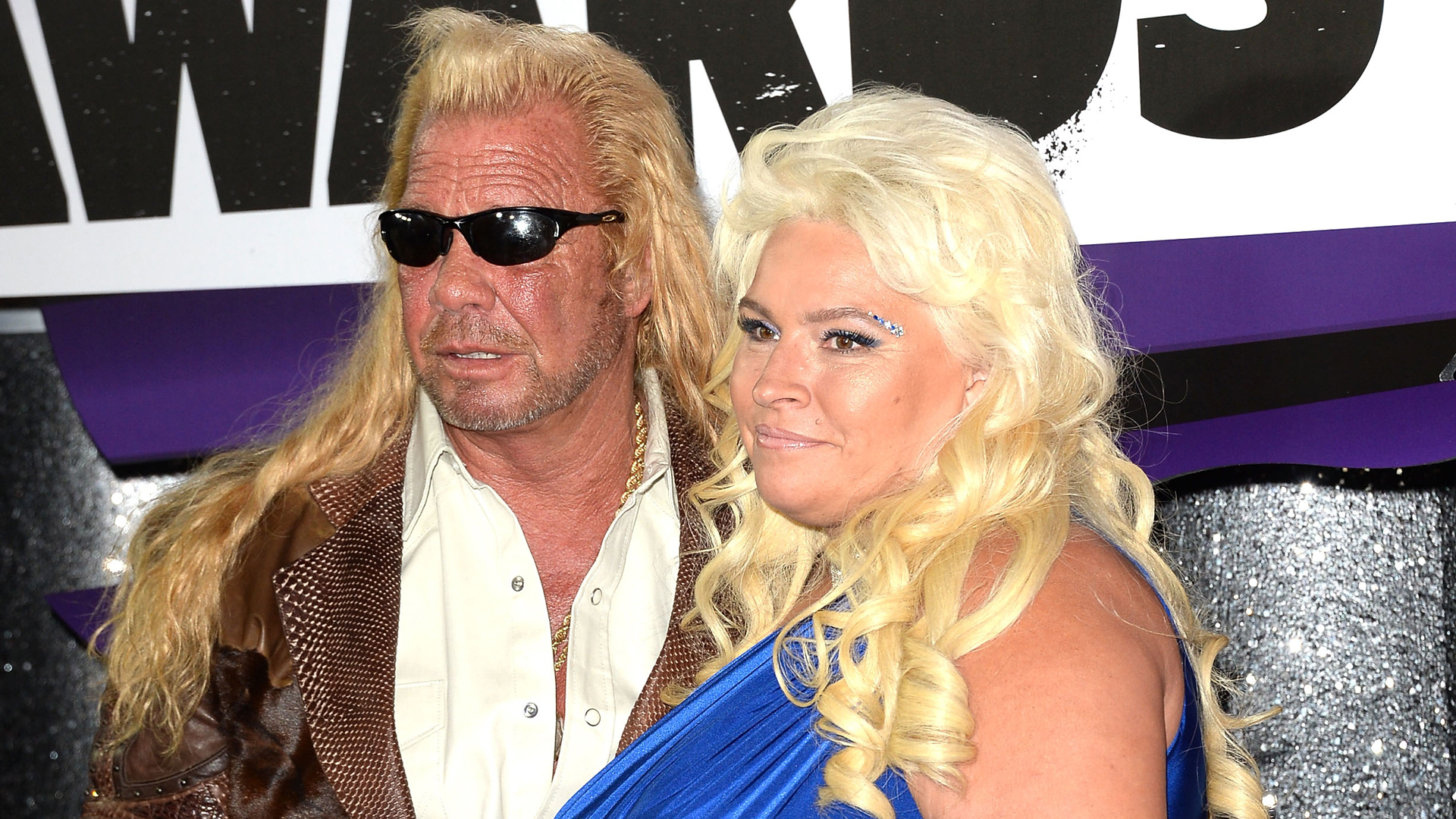 """Dog the Bounty Hunter"" stars Duane Chapman and Beth Chapman attend the 2013 CMT Music awards at the Bridgestone Arena on June 5, 2013 in Nashville. (Credit: Jason Merritt/Getty Images)"