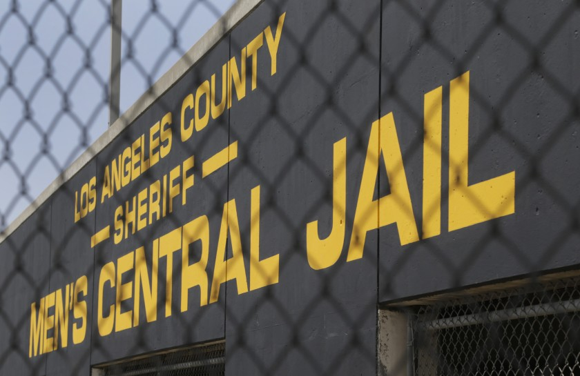 The Los Angeles County Sheriff's Department's men's central jail is seen in an undated photo. (Credit: Lawrence K. Ho / Los Angeles Times)