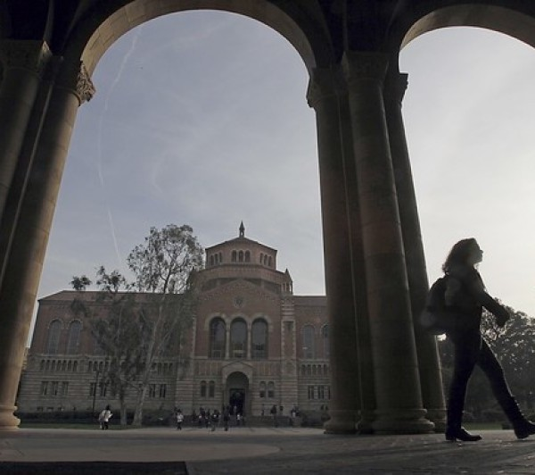The UCLA campus is seen in this undated photo. (Credit: Luis Sinco / Los Angeles Times)