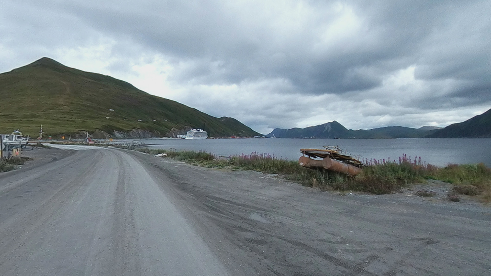 Dutch Harbor is seen in this image from Google Maps.