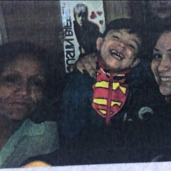 Veronica Hernandez, left, is seen with three of her children in this undated photo. (Credit: KTLA)