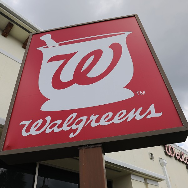 A Walgreens store in Miami, Florida, is seen on April 2, 2019. (Credit: Joe Raedle / Getty Images)