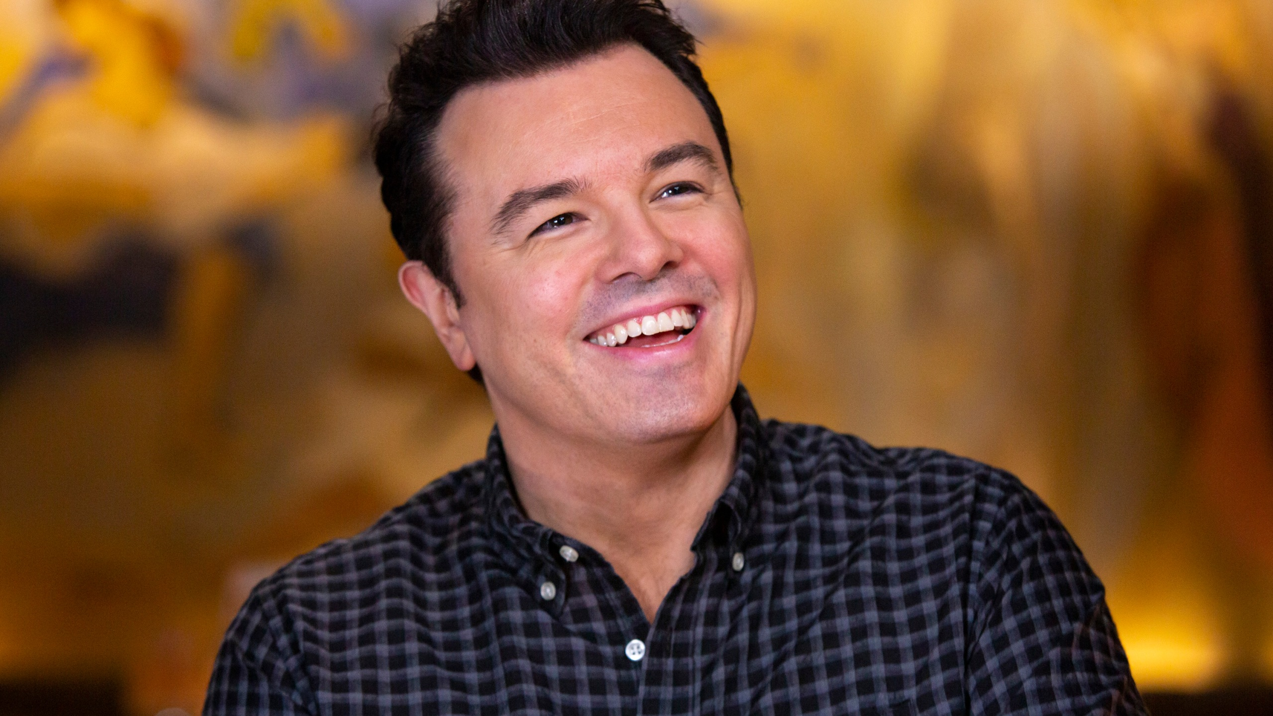 "Seth MacFarlane appears on ""Sunday Today With Willie Geist"" on June 25, 2019. (Credit: Mike Smith/NBC/NBCU Photo Bank via Getty Images)"