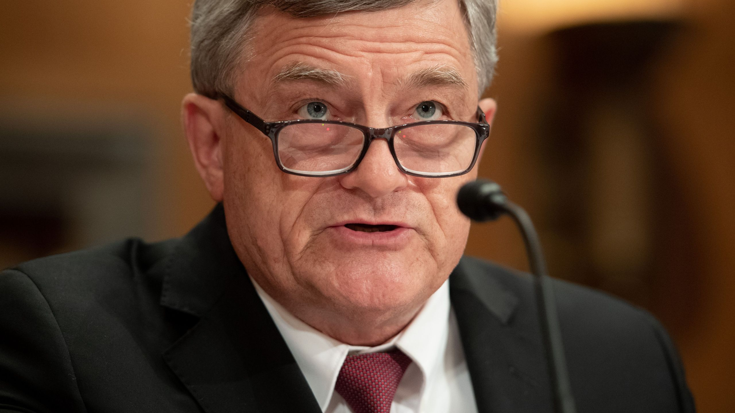 U.S. Census Bureau Director Steven Dillingham testifies about the 2020 Census during a Senate Homeland Security and Governmental Affairs Committee hearing on Capitol Hill in Washington, D.C., July 16, 2019. (Credit: SAUL LOEB/AFP/Getty Images)