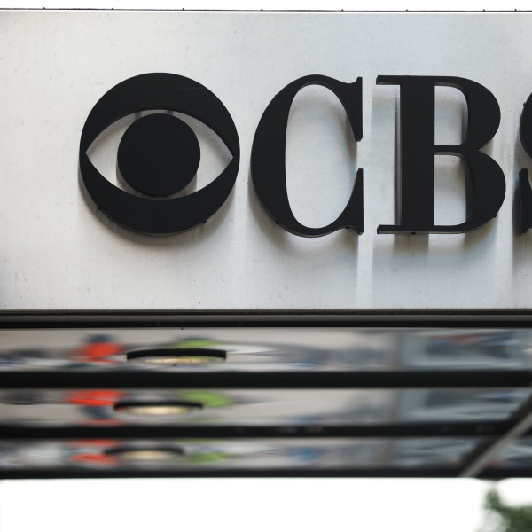 The CBS Broadcast Center is seen on August 13, 2019 in New York City. (Credit: Drew Angerer/Getty Images)