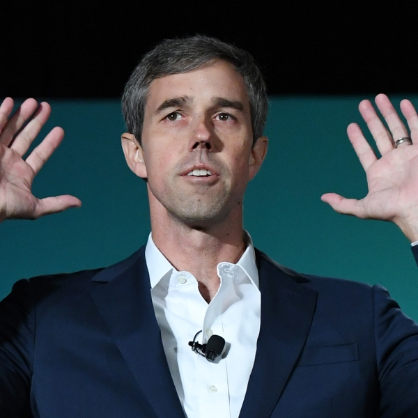 Beto O Rourke speaks during the 2020 Public Service Forum on Aug. 3, 2019, in Las Vegas, Nevada. (Credit: Ethan Miller/Getty Images)