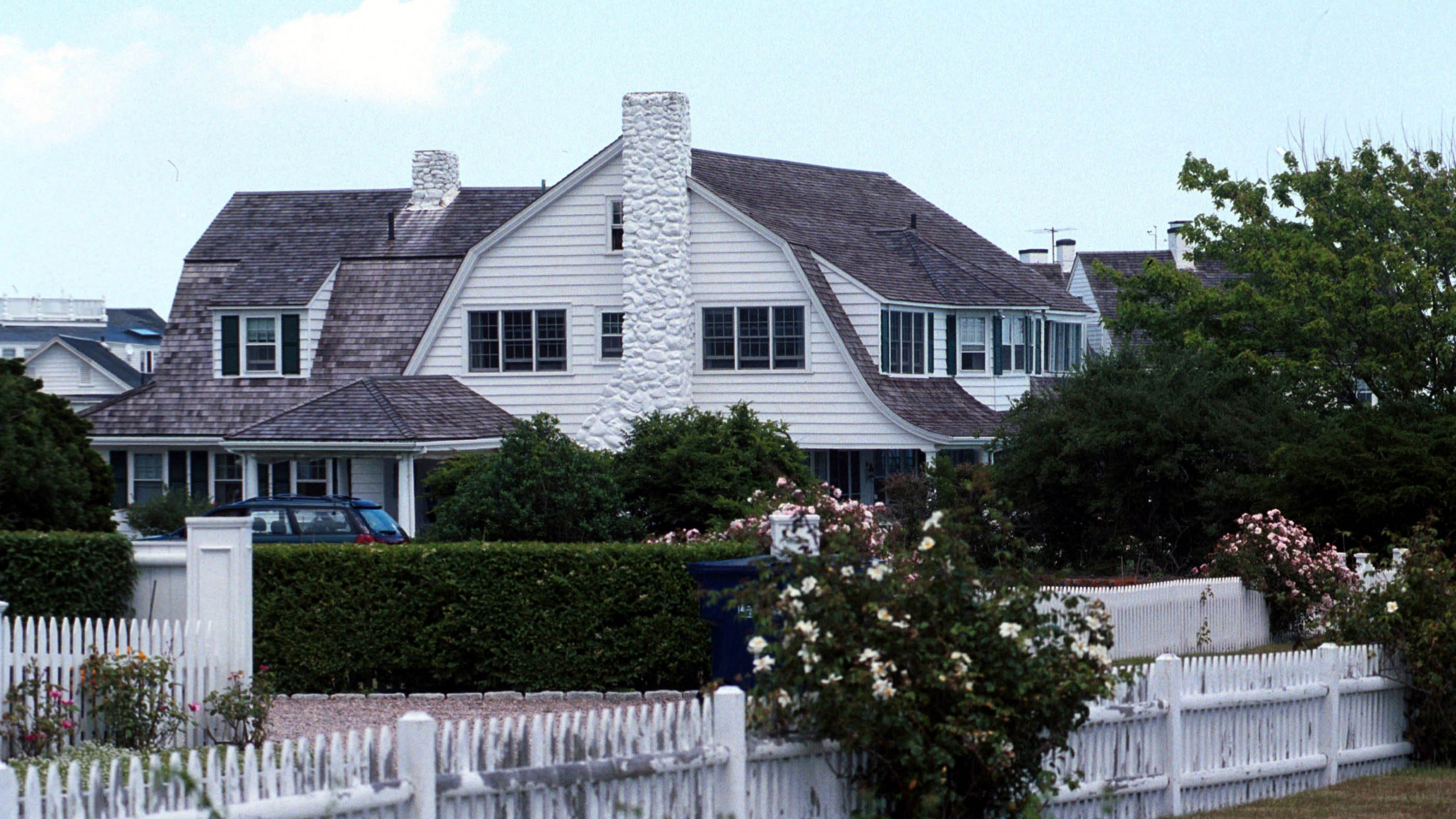 The Kennedy family compound in DescriptionHyannis Port, Massachusetts, is seen on July 6, 2000. (Credit: Darren McCollester / Newsmakers via Getty Images)