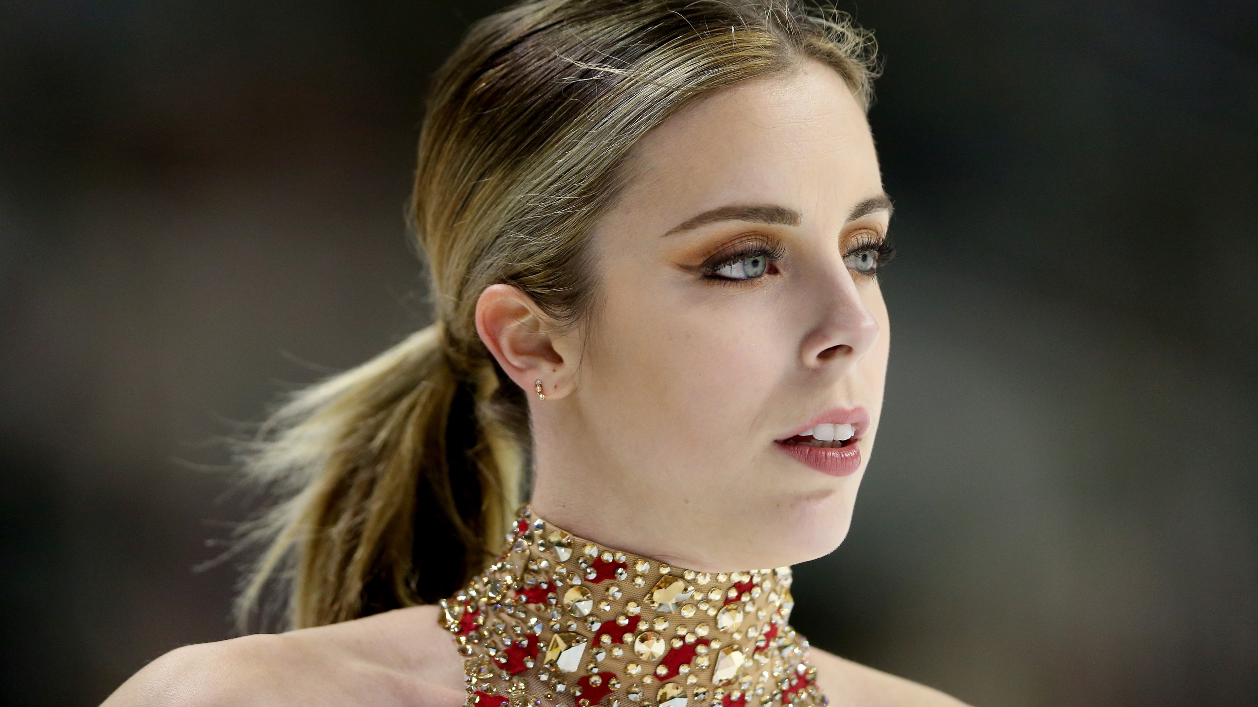 Ashley Wagner competes in the Ladies Short Program during the 2018 Prudential U.S. Figure Skating Championships at the SAP Center in San Jose on Jan. 3, 2018. (Credit: Matthew Stockman/Getty Images)