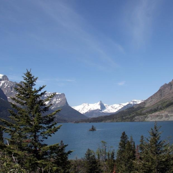 Glacier National Park is seen in a photo from the National Park Service.