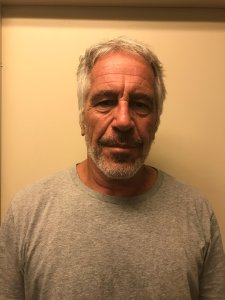Jeffrey Epstein appears in a March 28, 2017 photo released by the New York State Sex Offender Registry.