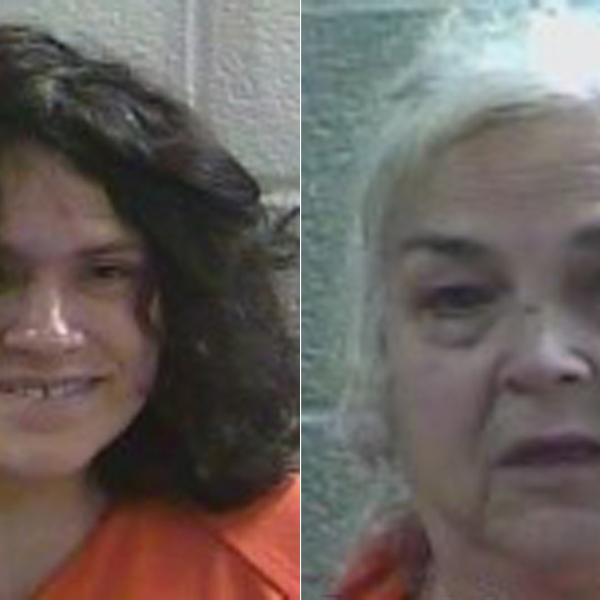 The Laurel County Sheriff's Office released these booking photos of Rebecca Fultz, left, and Charlotte Simpson, right.