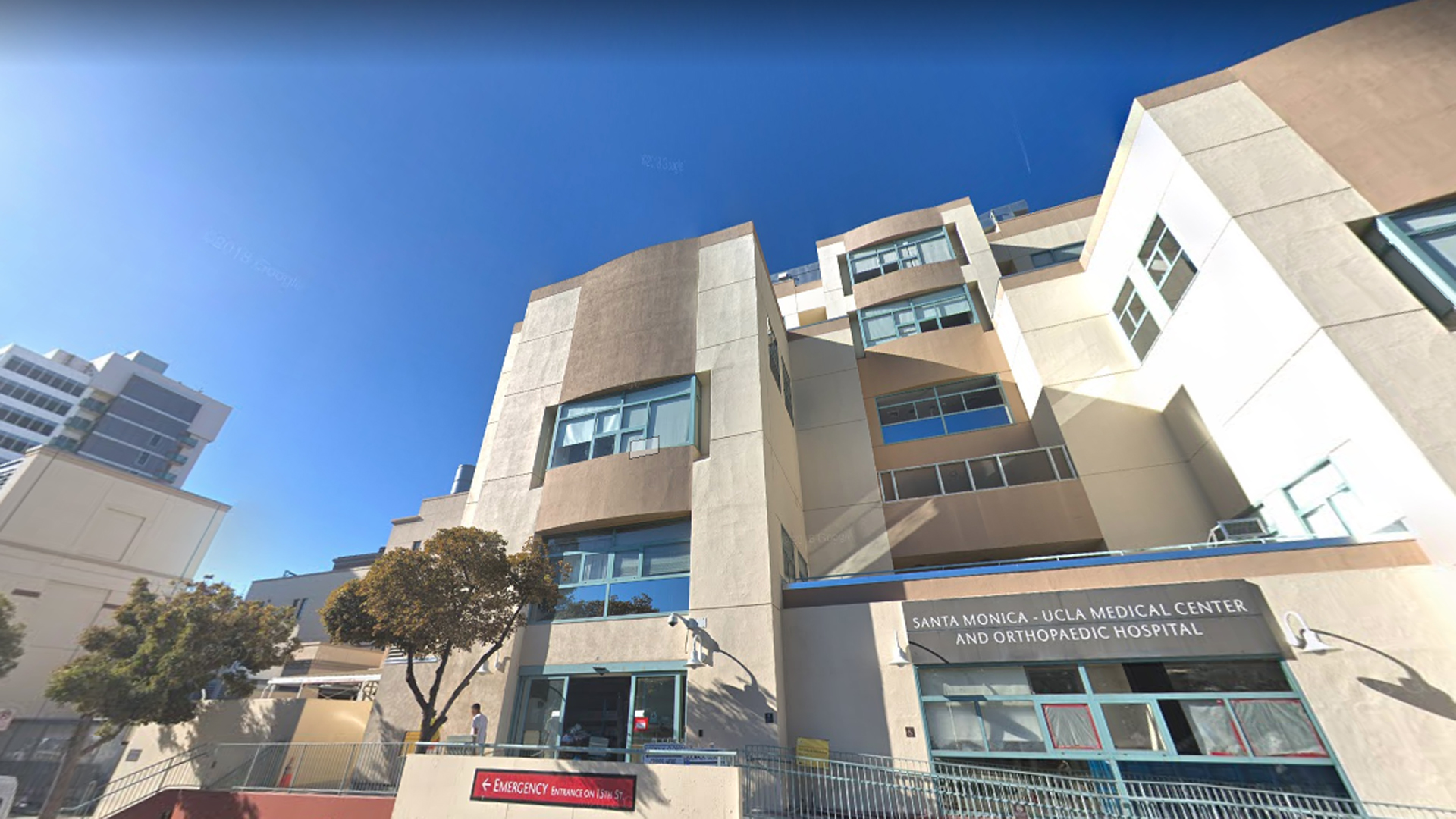 UCLA Medical Center, Santa Monica is seen in this undated image from Google Maps.