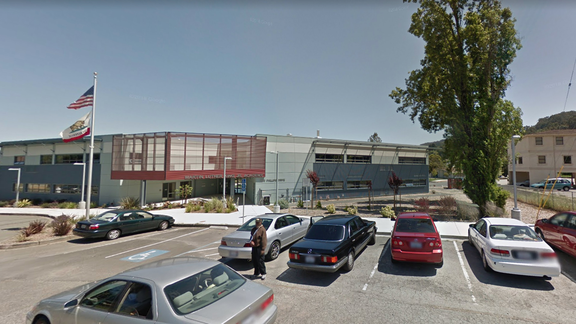 The Sausalito Marin City School District, located inside the Bayside Martin Luther King Jr. Academy, in Sausalito, Calif., is seen in this undated image from Google Maps.