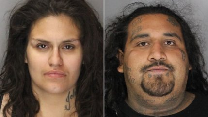Martitsa Guerrero, left, and Martin Chavez are seen in booking photos released Aug. 27, 2019, by the Sacramento County Sheriff's Office.