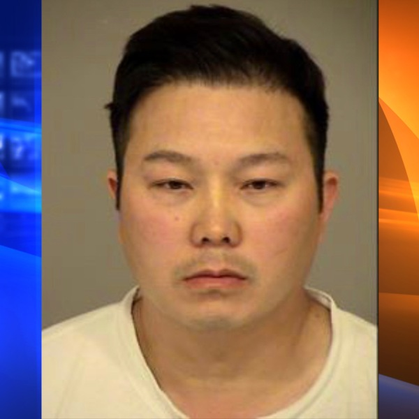 Peter Nhan is seen in this booking photo from the Simi Valley Police Department.