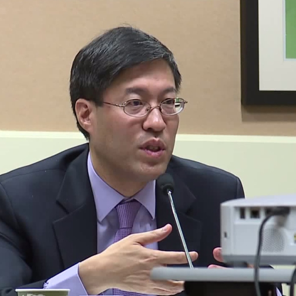 State Sen. Richard Pan is seen in Sacramento on Aug. 21, 2019. (Credit: KTXL)