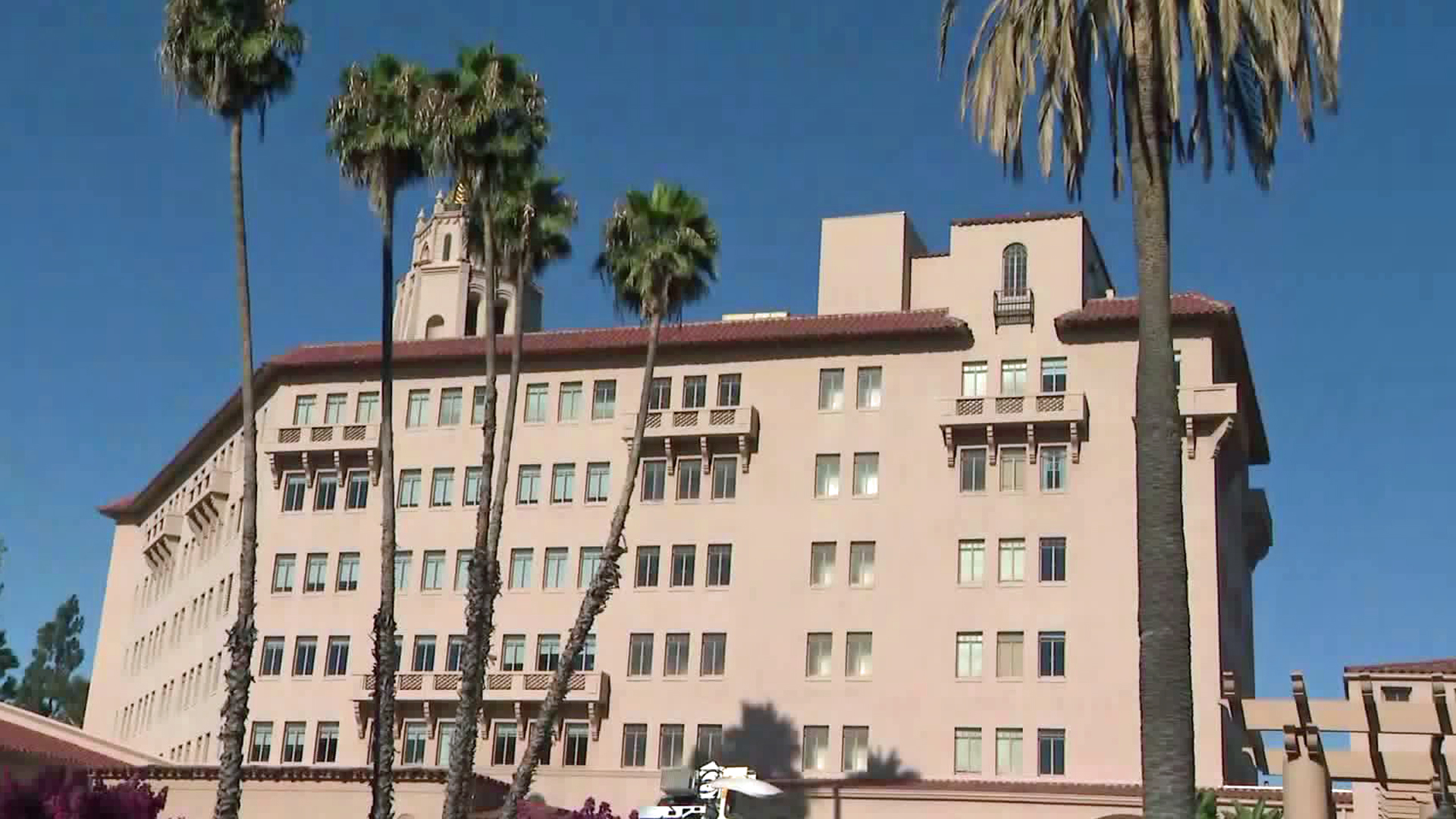An immigration protection rally was scheduled to be held in Pasadena on Aug. 14, 2019. (Credit: KTLA)