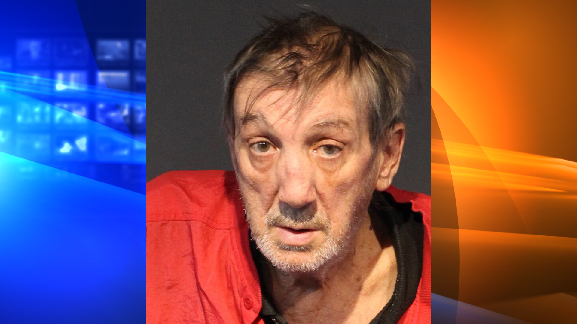 Ralph Goad is seen in a booking photo released by the Washoe County Sheriff's Office.