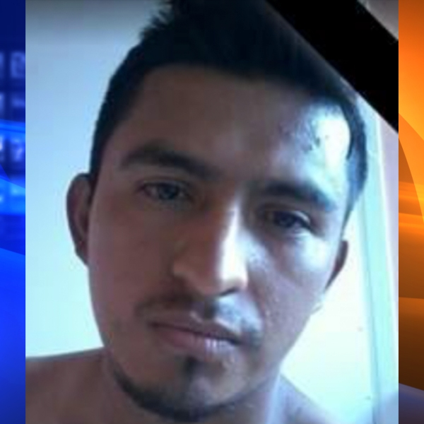 """Henry """"Oscar"""" Mazariegos-Gonzalez is shown in a 2016 Facebook photo provided by the Riverside Police Department on Aug. 9, 2019."""