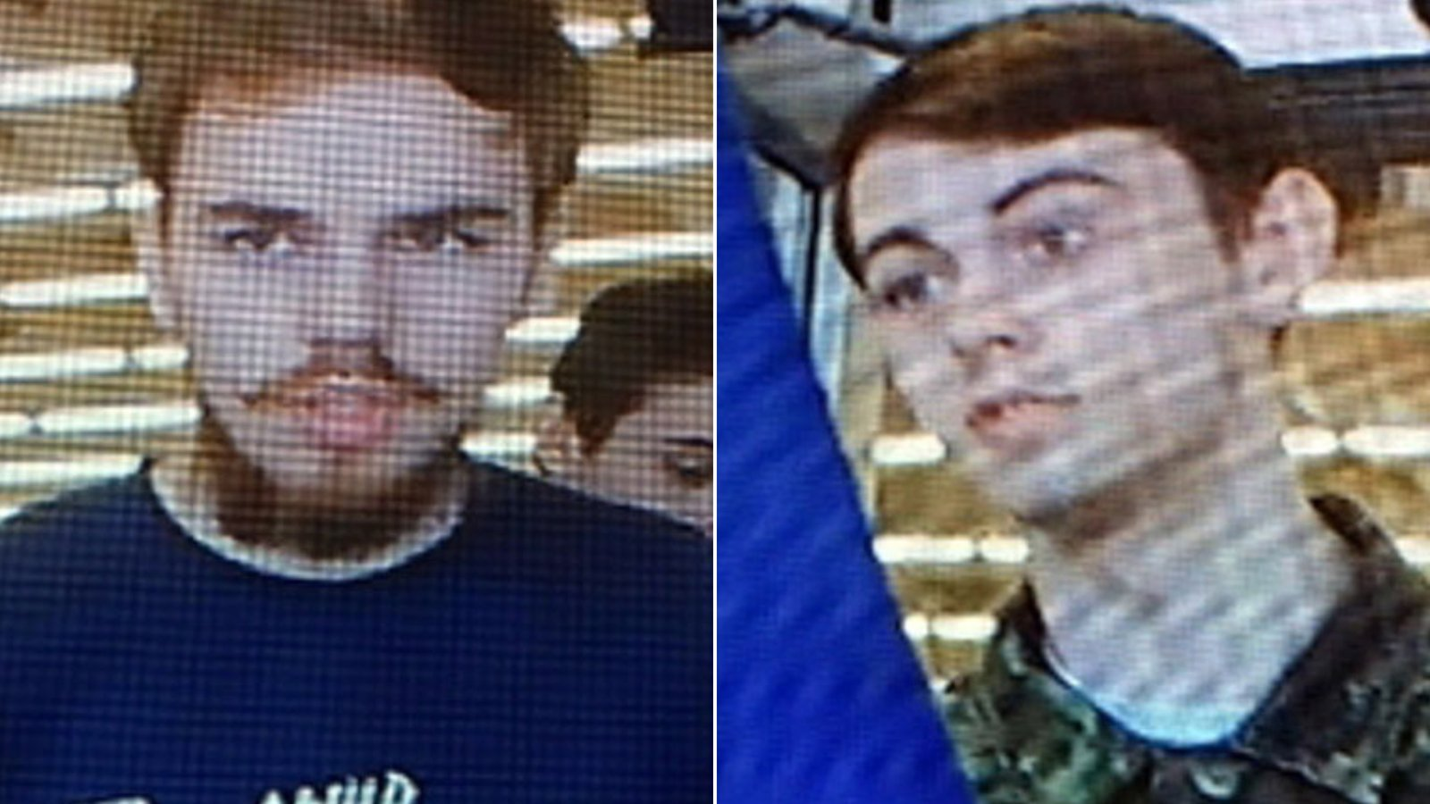 Kam McLeod (left) and Bryer Schmegelsky(right) are shown in undated photos released by the Royal Canadian Mounted Police.