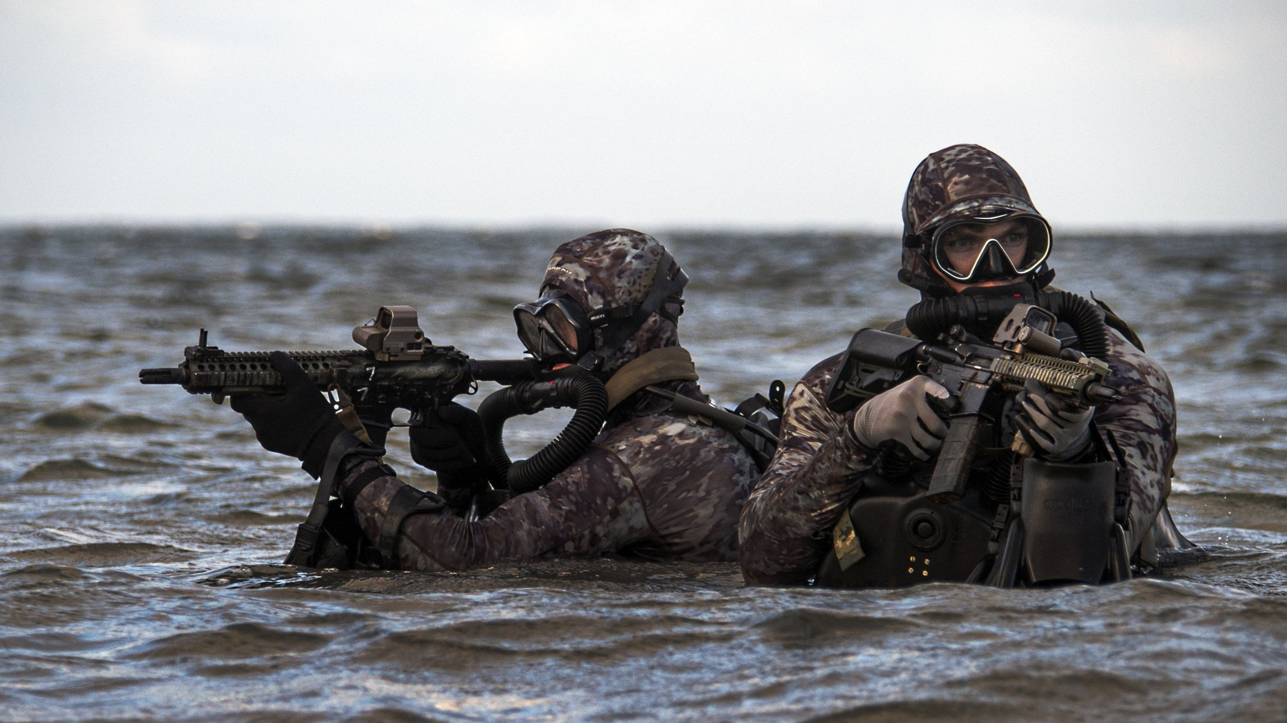 Members of a U.S. Navy SEAL team appear in this undated photo. (Credit: MCCS Jayme Pasoric / U.S. Navy via CNN)