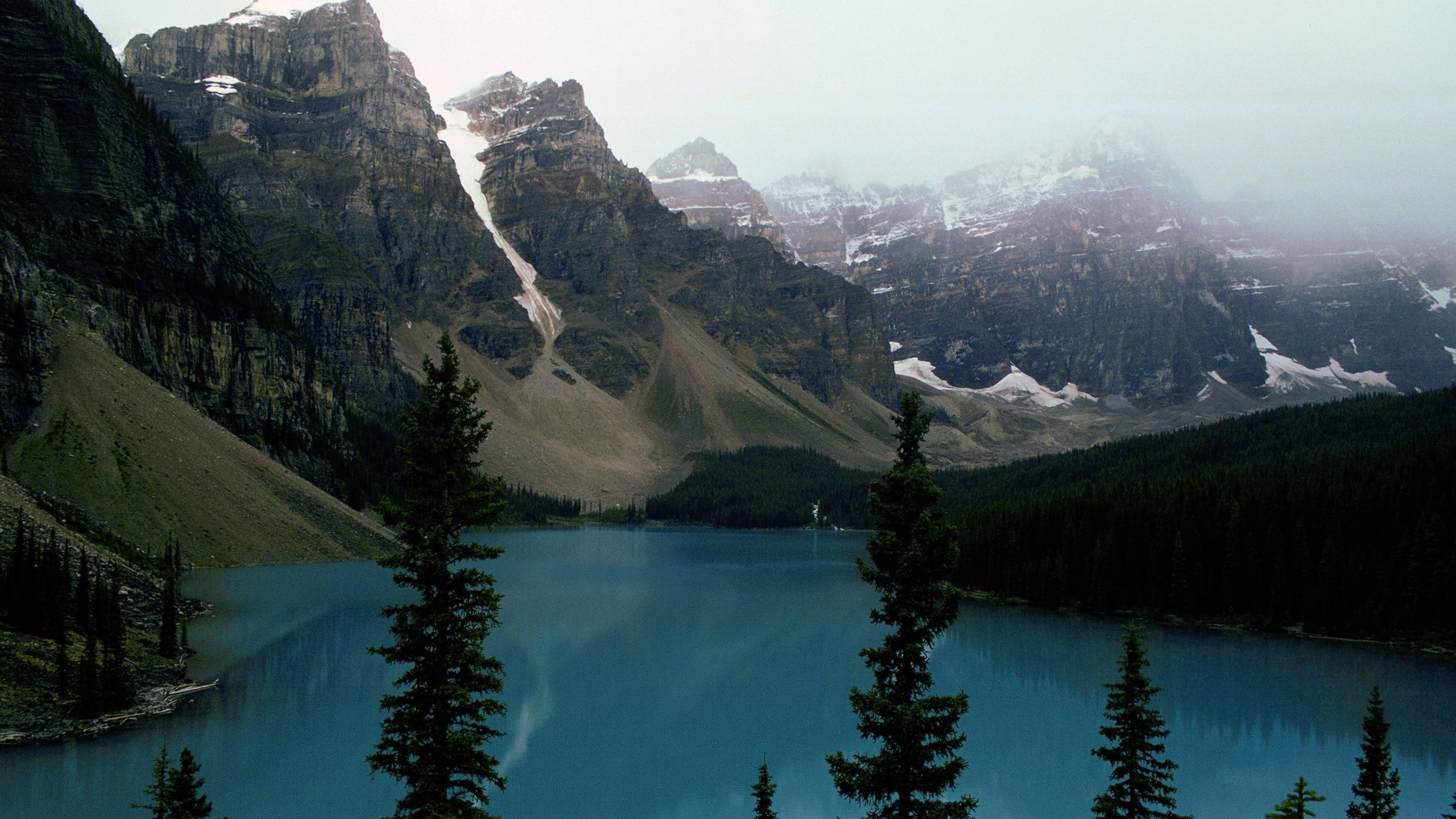 A view of Banff National Park is seen in this undated photo. (Credit: Tim Graham/Getty Images)