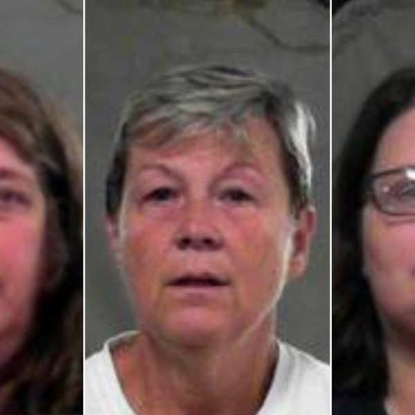 Kristin Douty, June Yurish and Christina Lester have been charged with failure to report abuse or neglect at a West Virginia school. (Credit: Eastern Regional Jail)