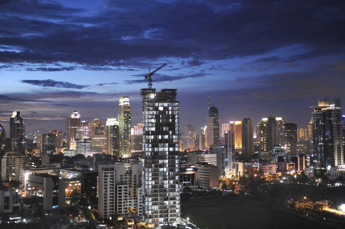 The Indonesian city of Jakarta is seen in this undated CNN photo.