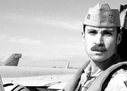 LT Charles Z. Walker is seen in a photo released by the U.S. Naval Air Forces on Twitter.