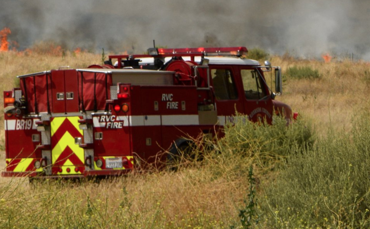 A Cal Fire Riverside truck is seen in a file photo. (Credit: Cal Fire)