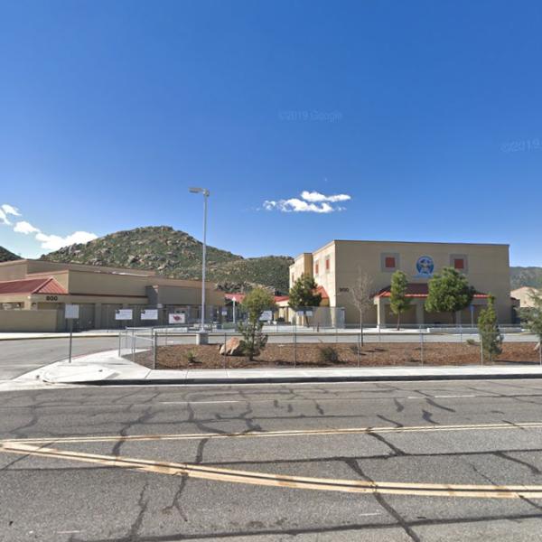 The Rancho Viejo Middle School in Hemet is seen in a Google Maps Street View image.