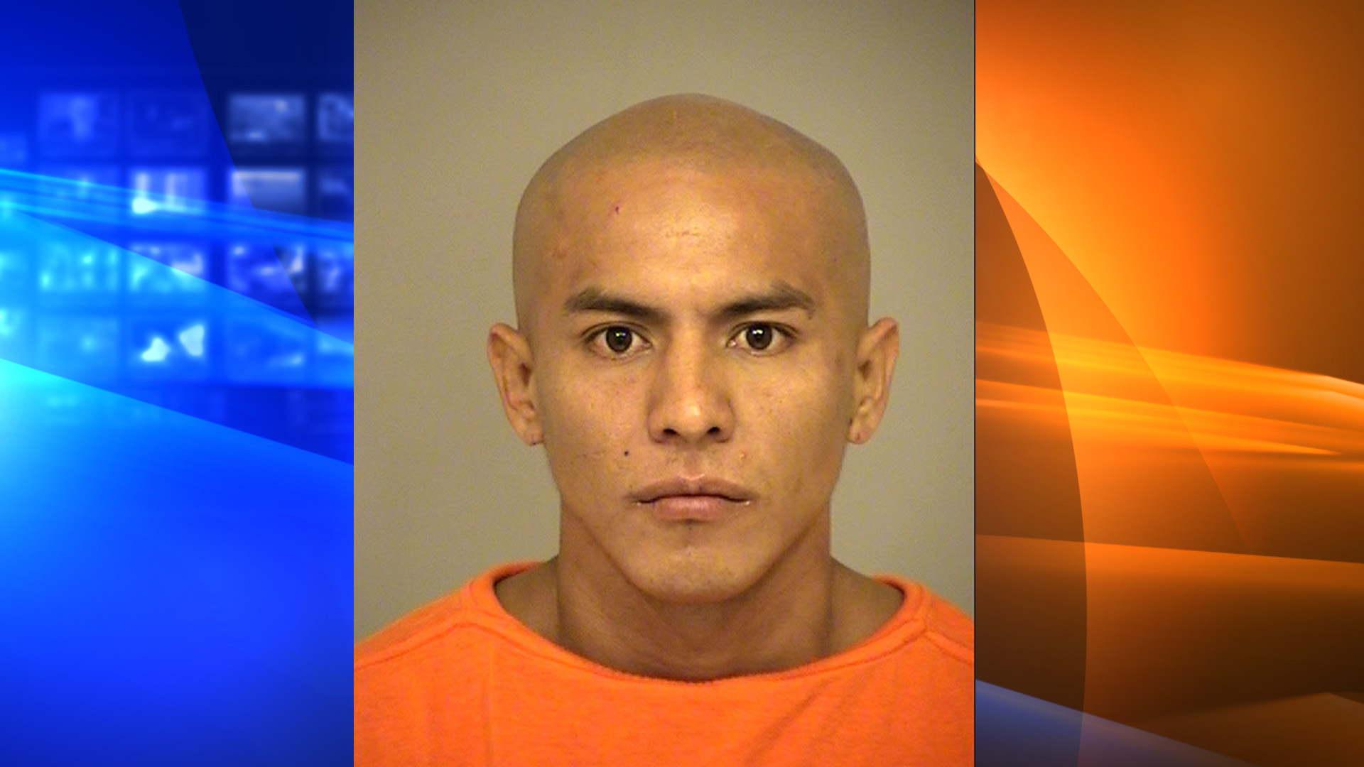 Antonio Alex Cardenas-Cespedes is seen in this booking photo from the Ventura County Sheriff's Office.