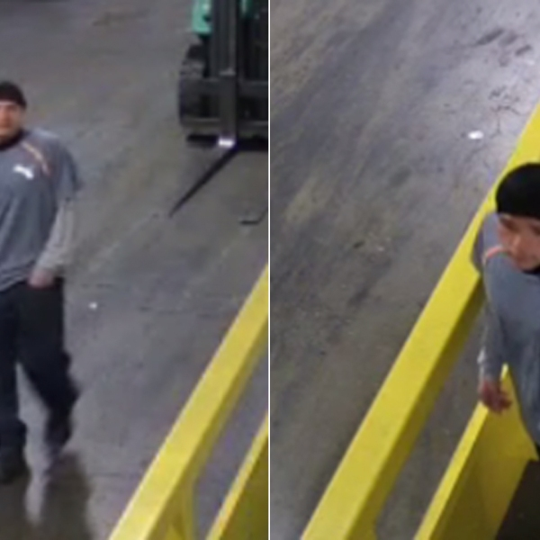 A man suspected of shooting the owner of a Watts recycling company is shown in photos released by the LAPD on Aug. 20, 2019.