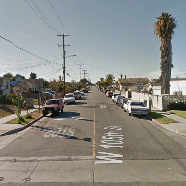 The 1600 block of West 105th Street in Westmont, as pictured in a Google Street View image.