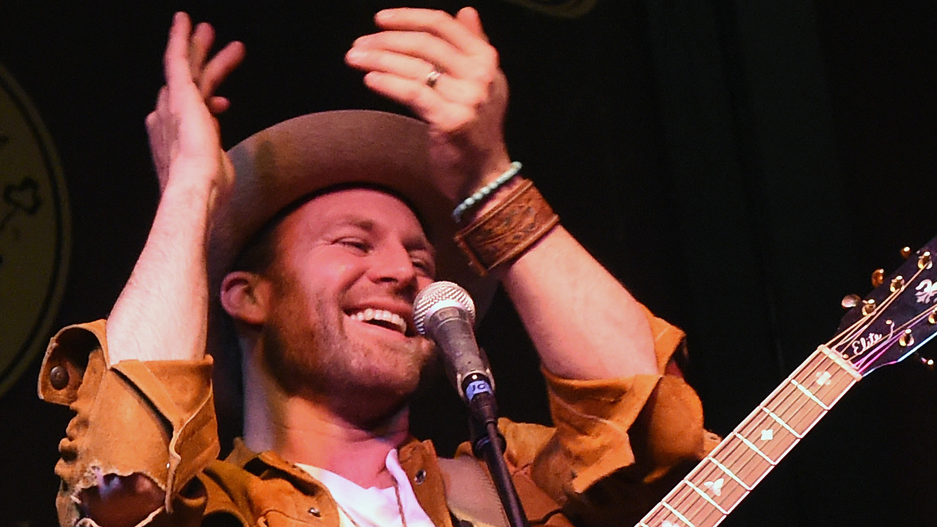"""Singer/Songwriter Drake White """"Livin' The Dream"""" Happy Hour and performance party at The Standard in the Smith House on January 12, 2016 in Nashville, Tennessee. (Credit: Rick Diamond/Getty Images)"""