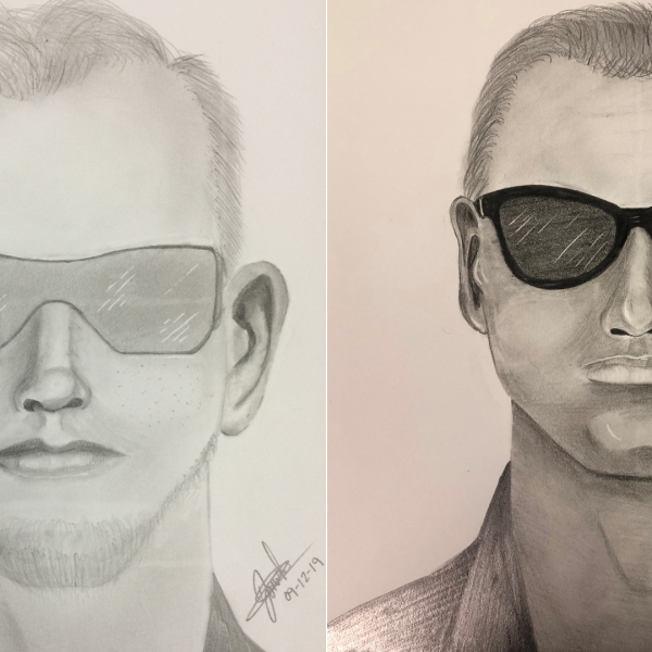 Sketches of men sought in separate child annoyance cases in Aliso Viejo were released by the Orange County Sheriff's Department on Sept. 18, 2019.