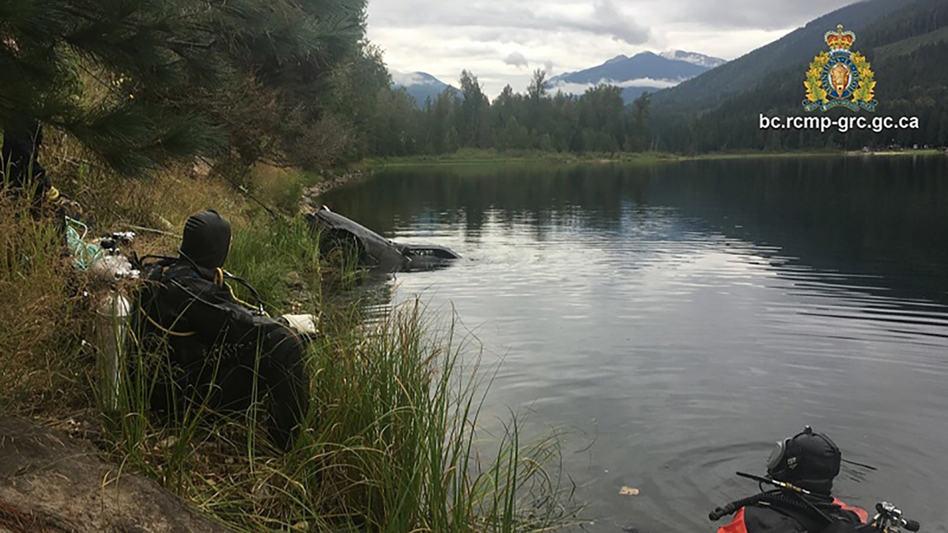 A curious 13-year-old boy discovered a vehicle in a lake in Canada last month, and helped solve the case of a woman who went missing 27 years ago. CREDIT: Reelstoke Royal Canadian Mounted Police (Credit: Canadian Mounted Police)