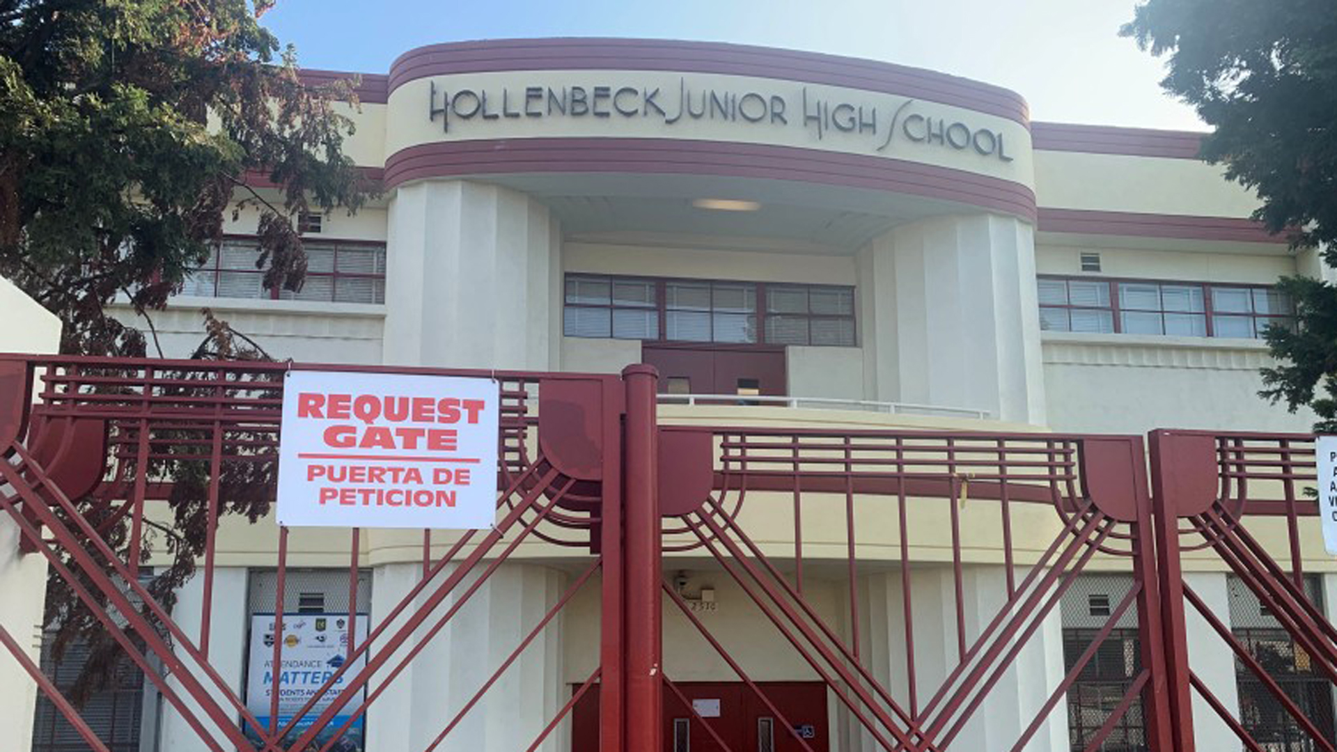 Hollenbeck Junior High School is seen in an undated image. (Credit: Sonali Kohli/Los Angeles TImes)
