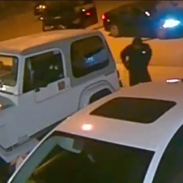 A burglary crew was caught on camera targeting vehicles in Canyon Country on Sept. 23, 2019.