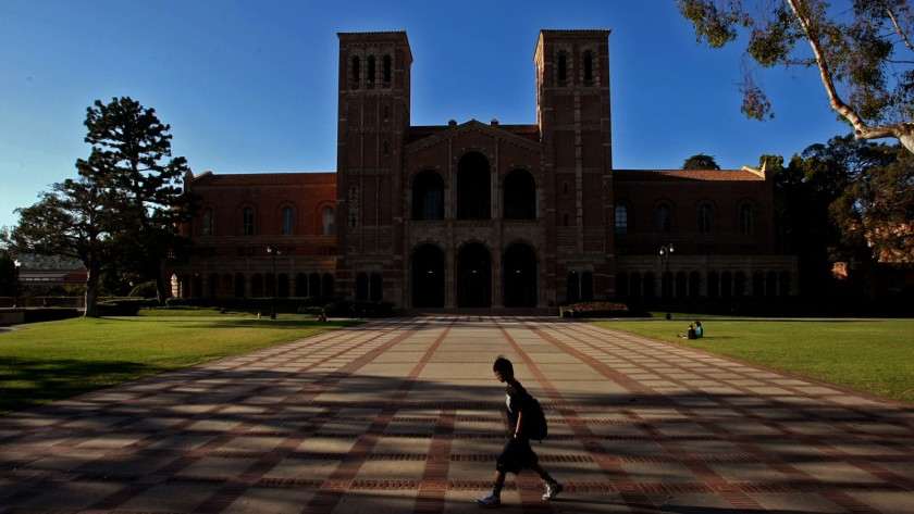 UCLA's Royce Hall is seen in an undated photo.(Credit: Genaro Molina / Los Angeles Times)