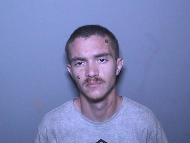 Brandon Foust is seen in a booking photo released Sept. 27, 2019, by the Orange County Sheriff's Department.
