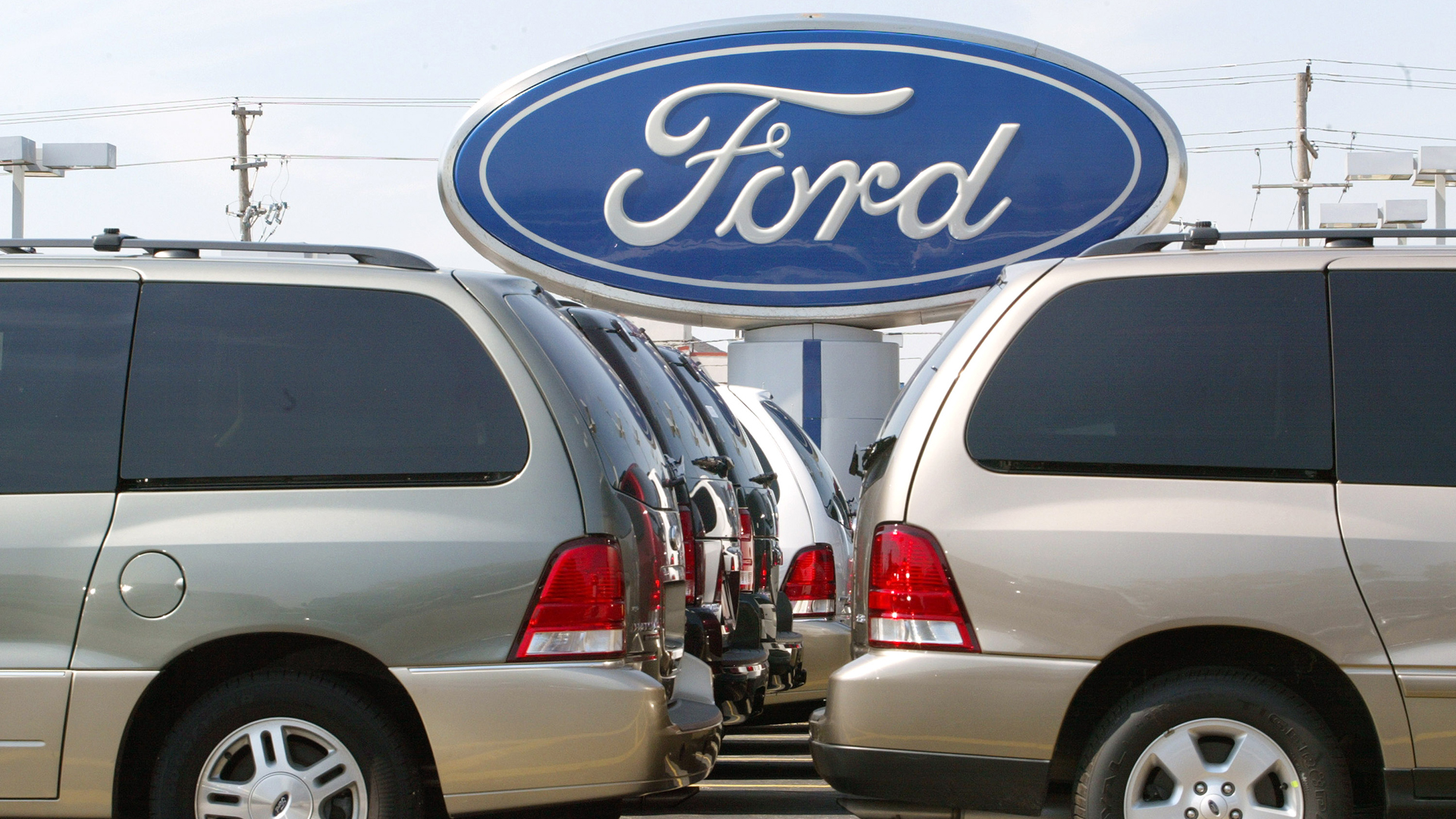 Ford is among the auto companies being investigated in the antitrust probe, as are BMW, Volkswagen and Honda. (Credit: Tim Boyle/Getty Images)